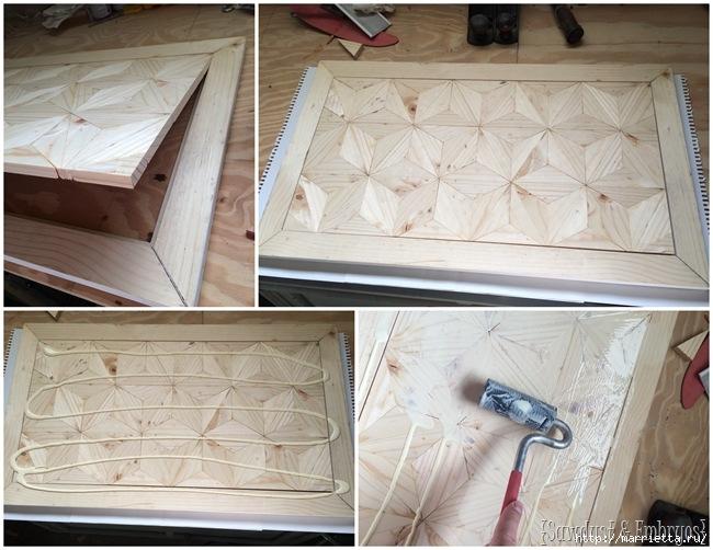 Геометрическое панно из деревянных треугольников (10) (650x502, 207Kb)