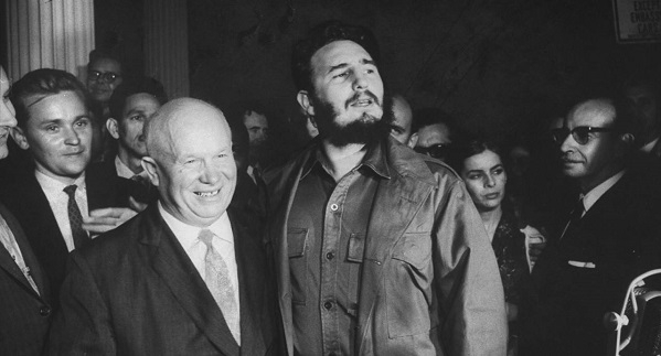 Фидель Кастро в России