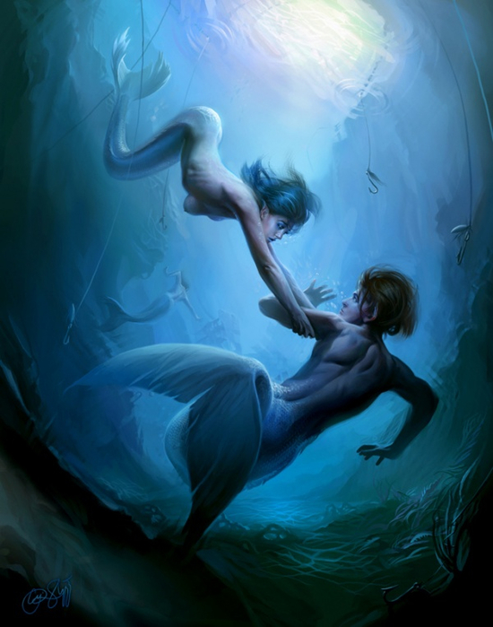 mermaids_017_people-of-the-lake-by-cynthia-sheppard (550x700, 315Kb)
