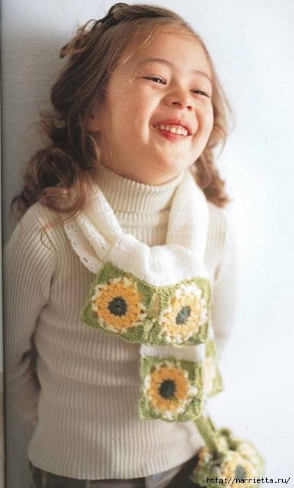 Сумочка и шарфик крючком для маленькой модницы (2) (422x700, 215Kb)
