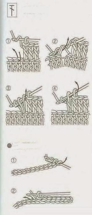 Сумочка и шарфик крючком для маленькой модницы (6) (300x700, 131Kb)