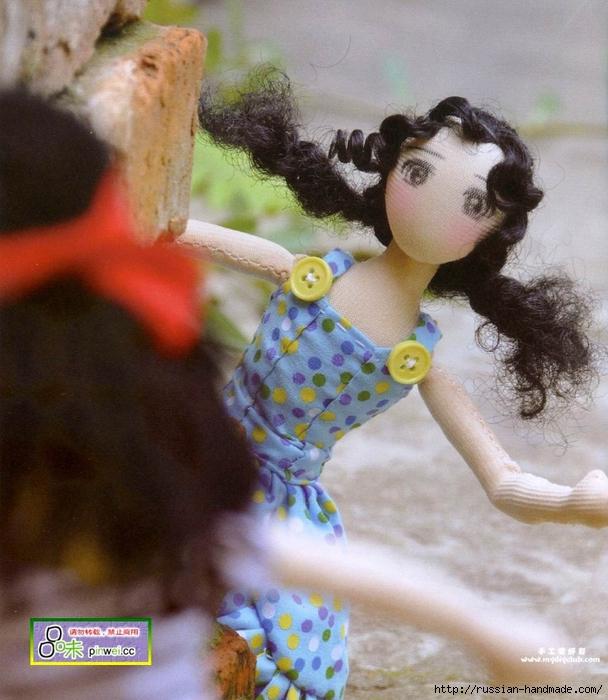 Как сшить сарафан для куклы тильды (1) (608x700, 319Kb)