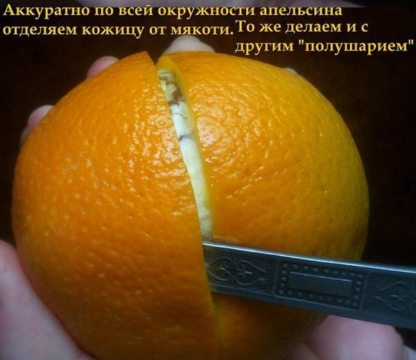 Рецепт с мякотью апельсина