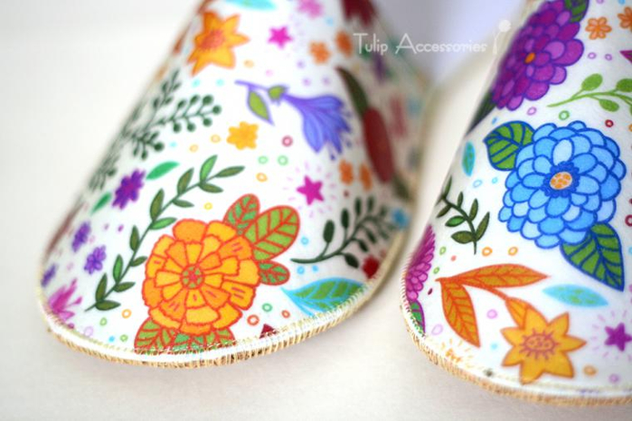手工教程:30分钟完成的优美拖鞋(大师班) - maomao - 我随心动
