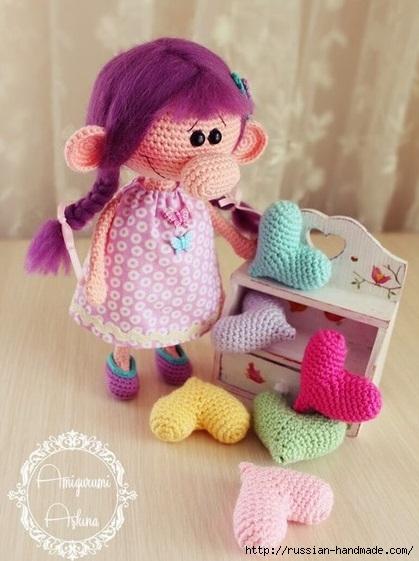 Вяжем куколку - девочку с большим носом. Описание (1) (419x561, 143Kb)