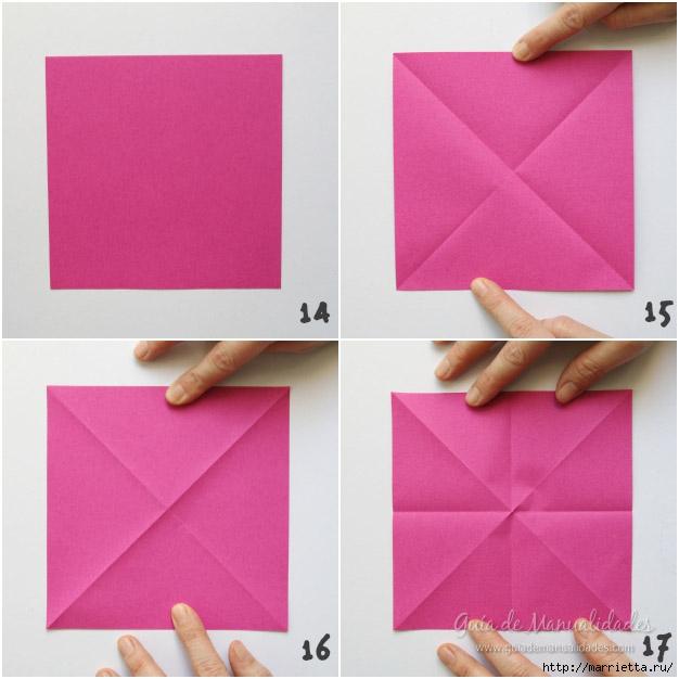 Складываем тюльпаны в технике оригами (4) (626x626, 153Kb)