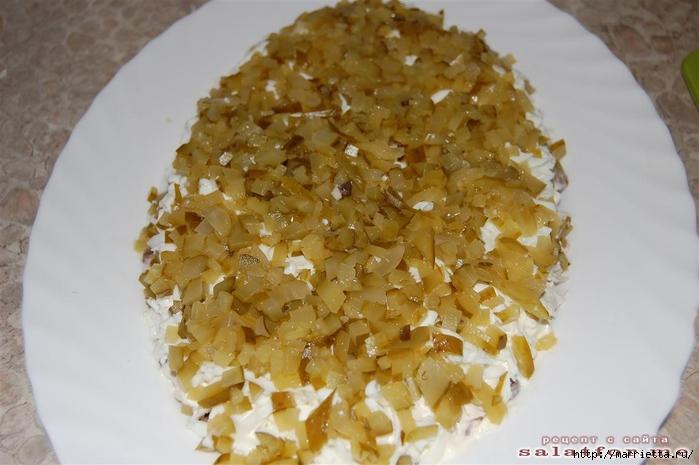 Нежный салат БЕРЕЗКА. Рецепт (12) (700x465, 212Kb)