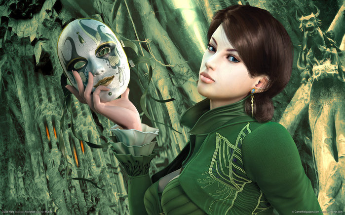Омолаживающие маски из зелени