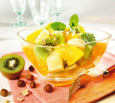 салат с персиком и мандарином (400x359, 160Kb)