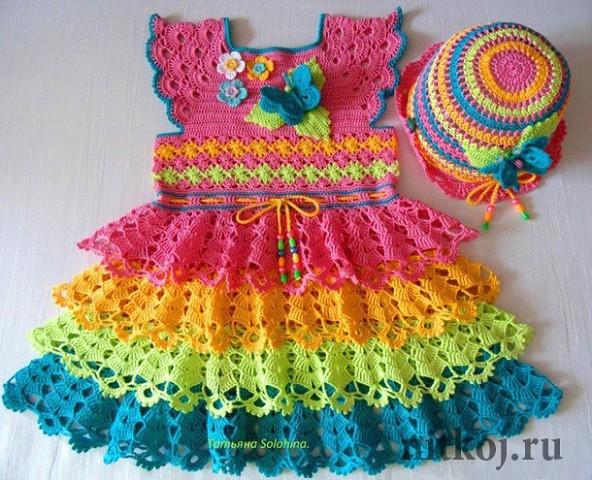 купить детское фланелевое платье