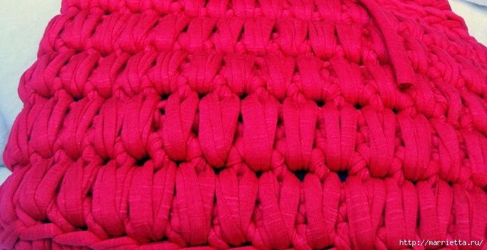 Вязание трикотажными полосками. Три сумочки со схемами (2) (700x359, 215Kb)
