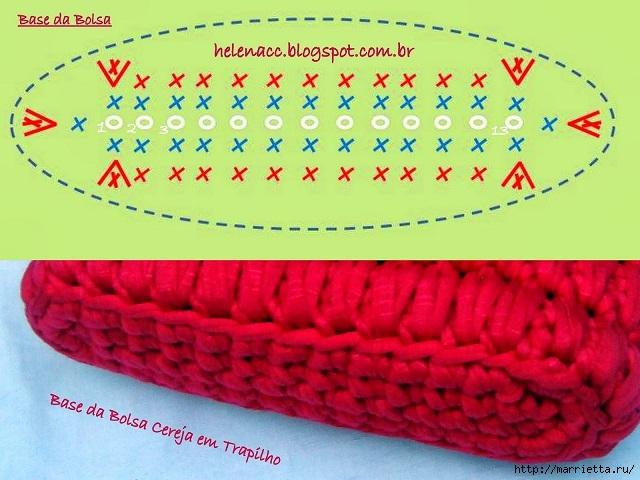 Вязание трикотажными полосками. Три сумочки со схемами (6) (640x480, 201Kb)