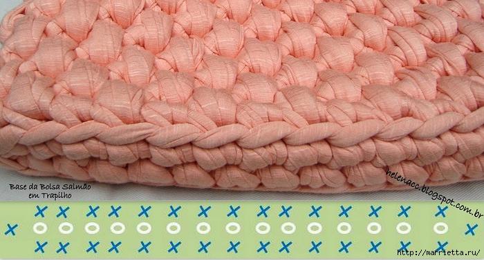 Вязание трикотажными полосками. Три сумочки со схемами (12) (700x377, 248Kb)