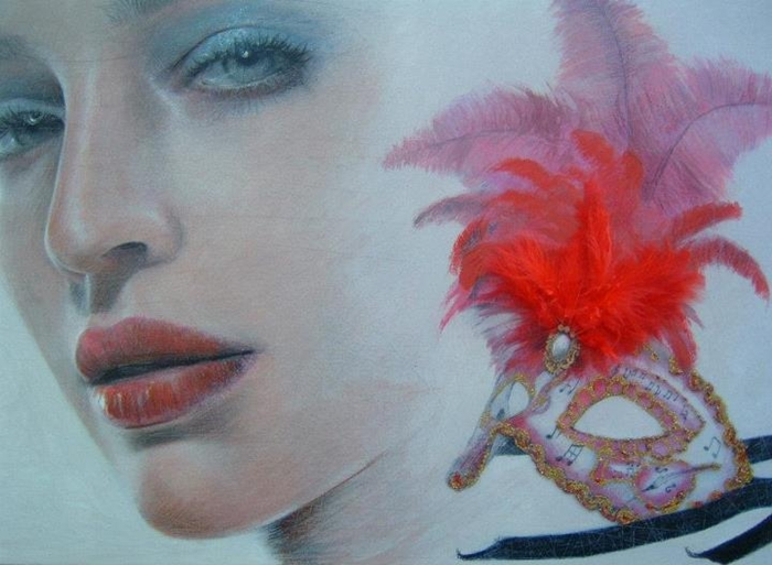 Gianni Bellini 1965 - Italian Figurative Mixed media painter - Tutt'Art@ - (8) (700x513, 295Kb)