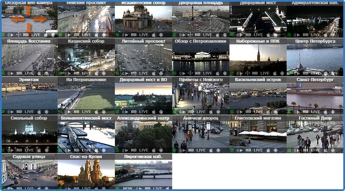 веб-камеры санкт-петербурга