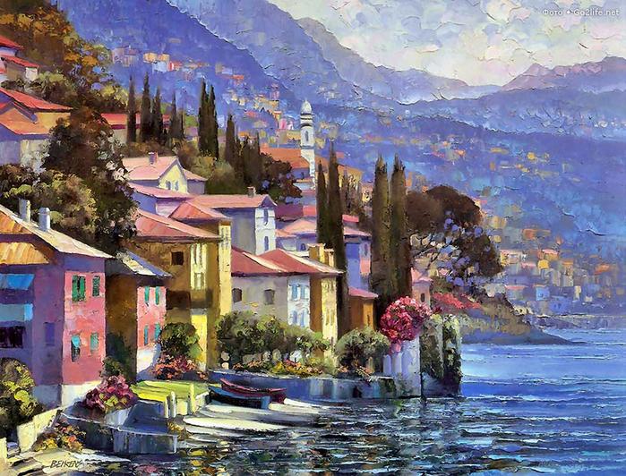 художник Говард Беренс картины 1 (700x532, 573Kb)