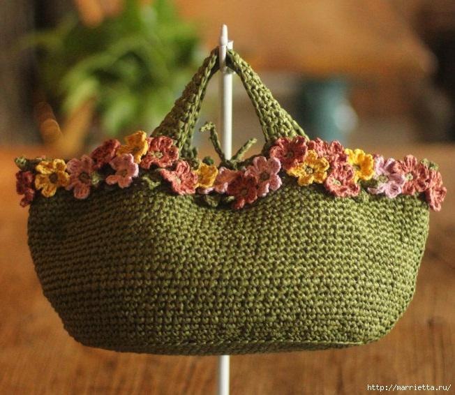 Вязание крючком. Летние сумочки с цветами (1) (652x566, 251Kb)