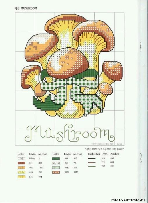 Миниатюрная вышивка. Овощи. Схемы (8) (508x700, 228Kb)