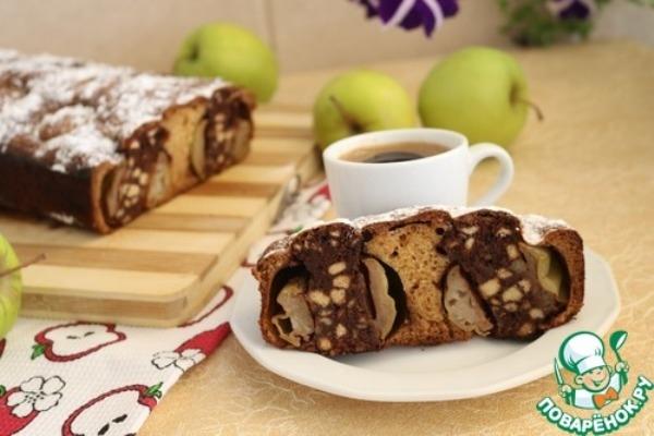 Ароматный пирог «Яблочный витраж» (600x400, 129Kb)