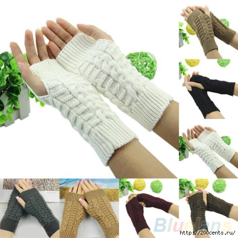 Winter Unisex Arm Warmer Elbow Long Fingerless Mitten Knitted Soft Gloves 1T2L/5863438_WinterUnisexArmWarmerElbowLongFingerlessMittenKnittedSoftGloves1T2L_1_ (490x490, 103Kb)