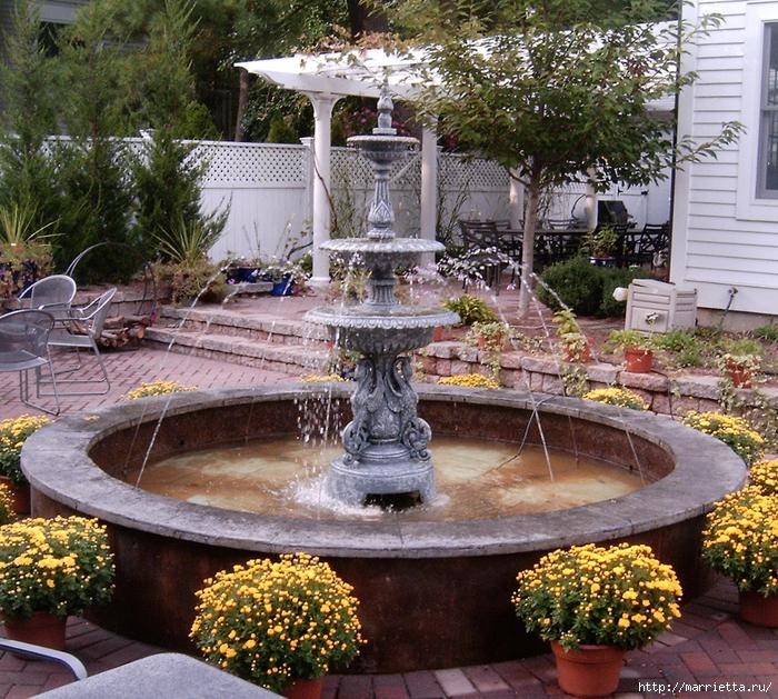 Хотите создать фонтан на даче своими руками (10) (700x629, 491Kb)