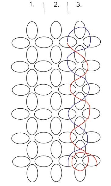 Ментоловый браслет из бисера. Схемы плетения (15) (365x611, 122Kb)