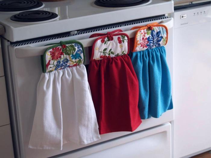 Шьем кухонные принадлежности