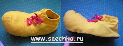 Ботинки для клоуна своими руками мастер класс 19