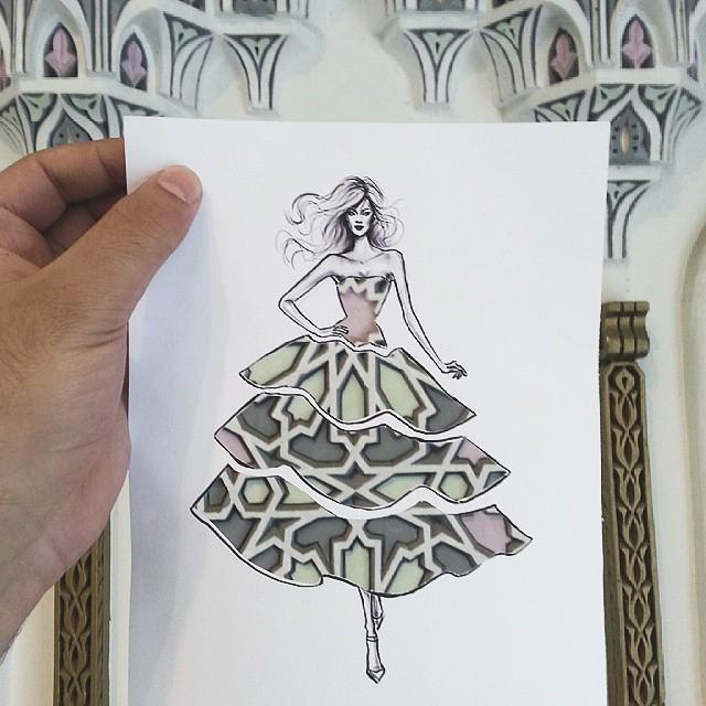 идеи для модного дизайна одежды Shamekh Bluwi 2 (640x640, 321Kb)