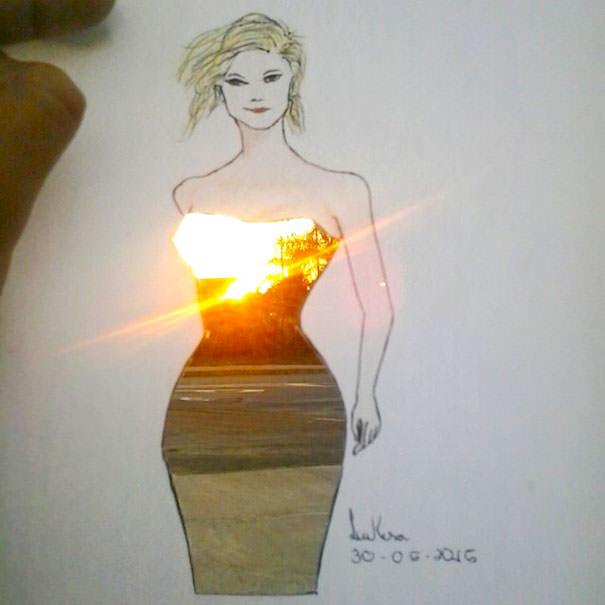 идеи для модного дизайна одежды Shamekh Bluwi 5 (605x605, 133Kb)