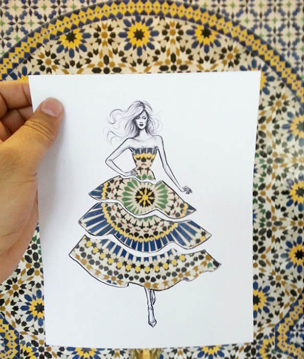 идеи для модного дизайна одежды Shamekh Bluwi 7 (593x700, 274Kb)