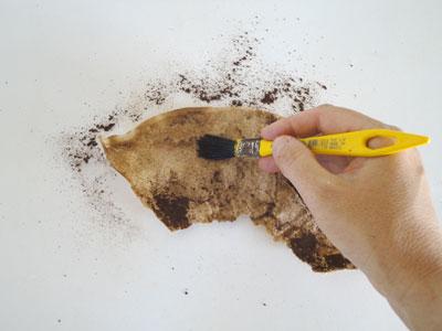 Как сделать фильтр для кофе из бумаги