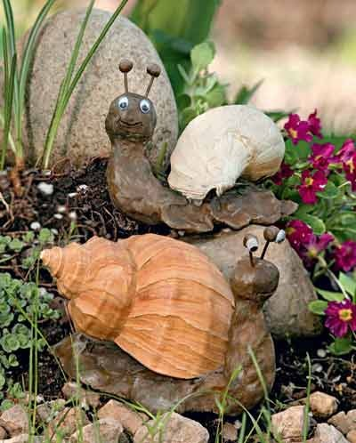 Декоративные поделки из дерева для сада своими