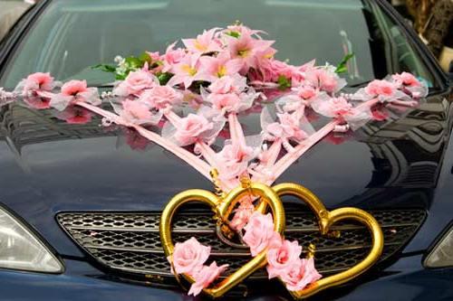 Своими руками сделать украшения на машину свадебную