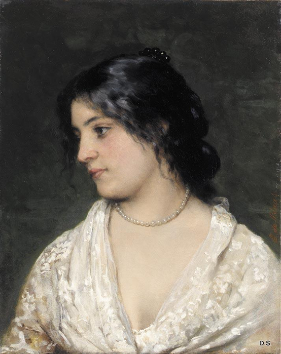 Blaas_Eugen_von_The_Pearl_Necklace (554x700, 296Kb)