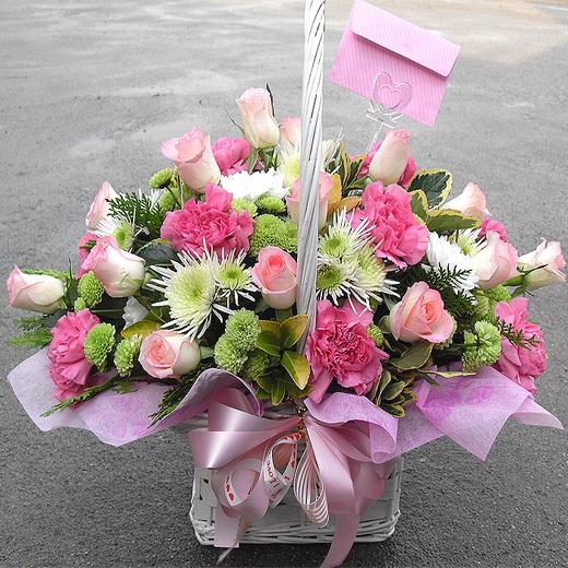 """Композиция 484 на тему  """"Серебряная свадьба подарить чайные розы заказ круглосуточно """" ."""