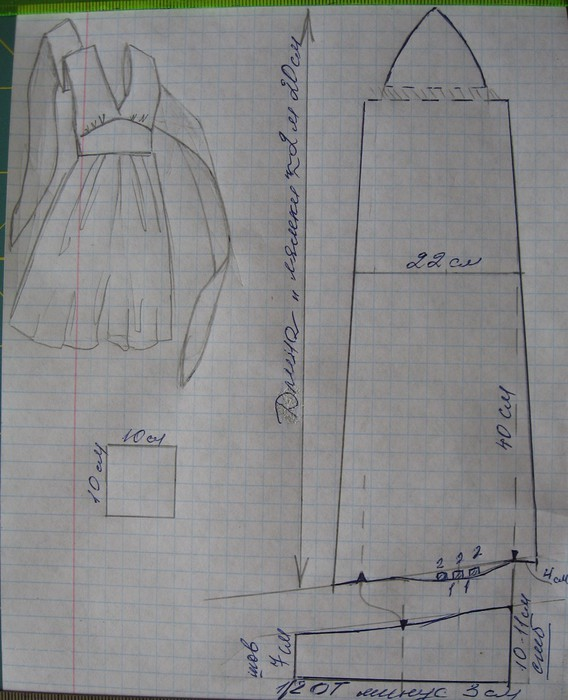 Как сшить платье трансформер 66