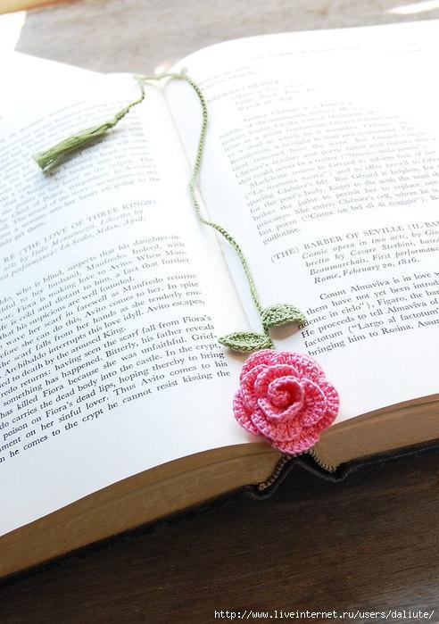 Закладки для книг - идеи (схем