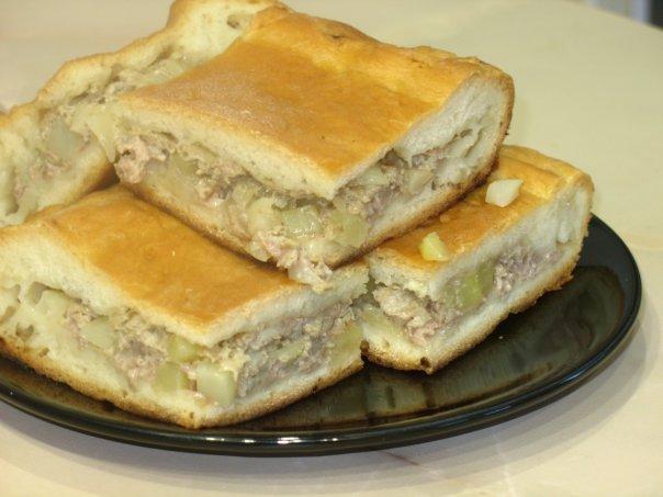 Вкусный мясной пирог рецепт с фото