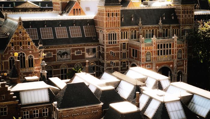 макет города Madurodam нидерланды 3 (700x396, 395Kb)