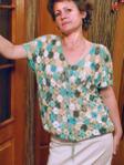 Блузка На Спицах Бамбук
