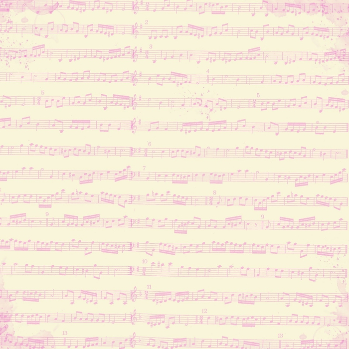 free digital scrapbook paper_shabby sheet music (700x700, 302Kb)
