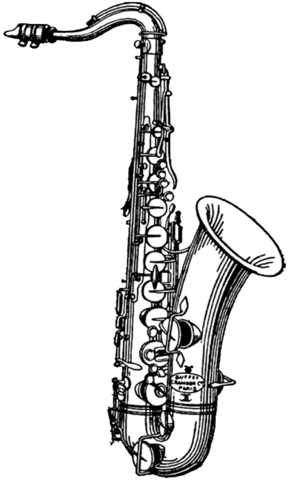 free digital stamp_saxophone (420x700, 187Kb)