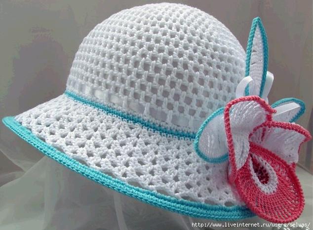 Шляпка летняя ажурная с вязаным чудо-цветком крючком для девочки/4683827_20120714_103243 (634x466, 176Kb)