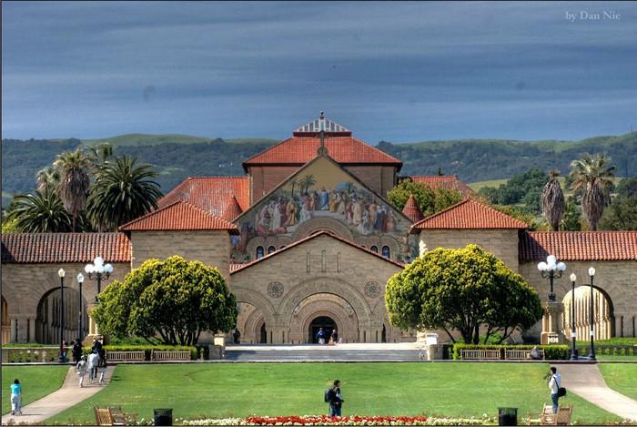 Стэнфордский университет - самый красивый университет в США 3 (700x469, 118Kb)
