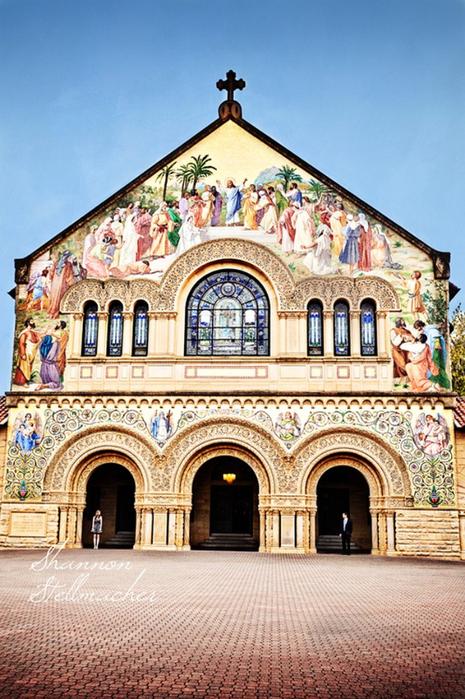 Стэнфордский университет - самый красивый университет в США 9 (465x700, 454Kb)