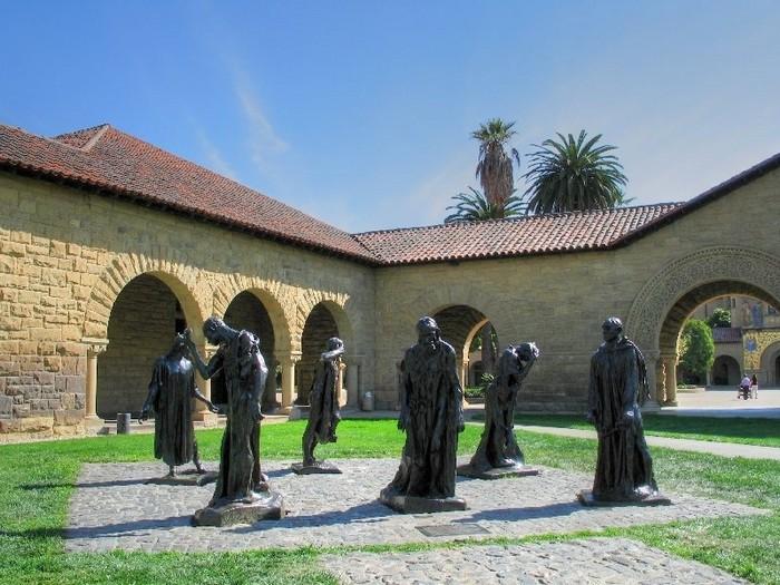 Стэнфордский университет - самый красивый университет в США 18 (700x525, 121Kb)