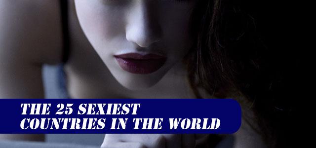 Самые ceкcуальные страны мира