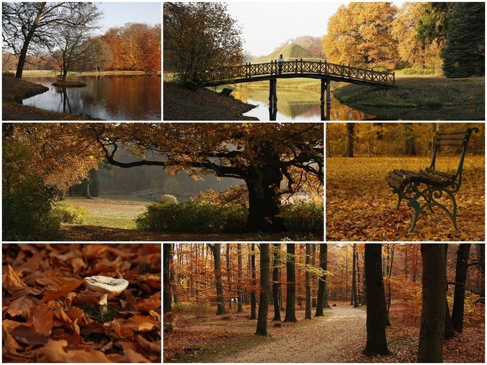 Парк и замок Браниц 70118