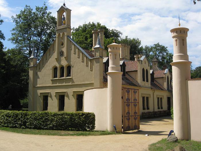 Парк и замок Браниц 33454